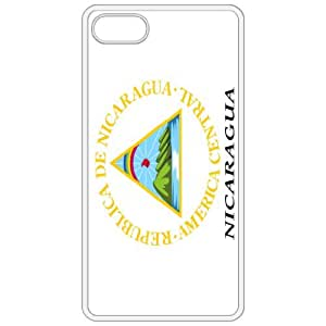Nicaragua Coat Of Arms Flag Emblem White Apple Iphone 4 - Iphone 4s Cell Phone Case - Cover