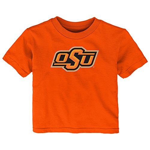 Gen 2 NCAA Oklahoma State Cowboys Infant Primary Logo Short Sleeve Tee, 18 Months, Orange