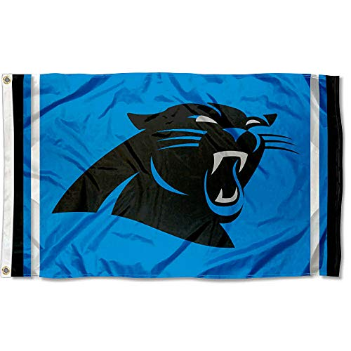 (WinCraft Carolina Panthers Panther Blue Flag )