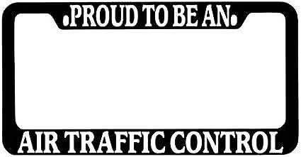Aluminum Metal License Tag Frame 2 Holes Car License Plate Cover Holder for US Standard Humor Funny License Plate Frame