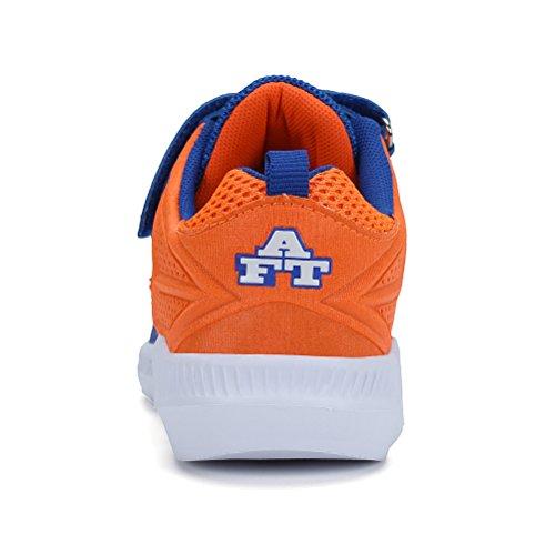 AFFINEST Zapatillas de Deporte Para Niño Respirable Mesh Zapatos Corrientes Al Aire Libre Sneakers Casual Azul