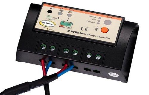 Go Power!! (GP-PSK-40 40W Portable Solar Kit with 10 Amp Solar Controller