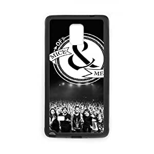 wugdiy Customized Cell Phone Case Cover for Samsung Galaxy Note 4 with DIY Design Of Mice & Men BY icecream design