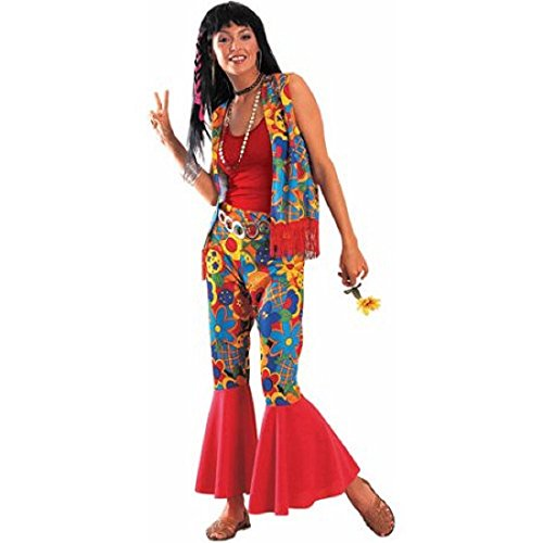 Peace Hippie Chick Adult Costume