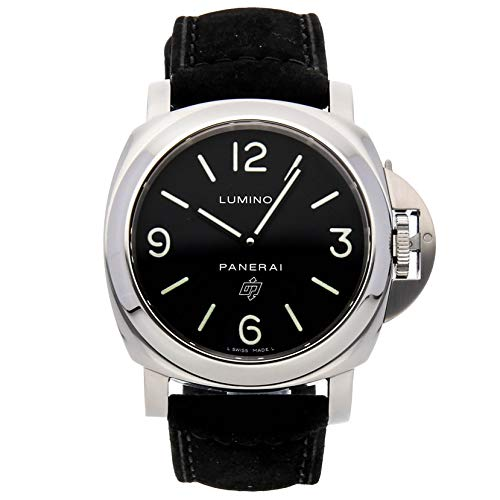 Panerai Luminor Mechanical (Hand-Winding) Black Dial Mens Watch PAM 000 (Certified Pre-Owned)