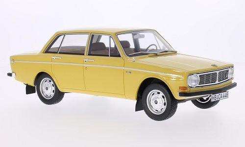 Volvo 144, yellow, 1970, Model Car, Ready-made, BoS-Models (Volvo Model)