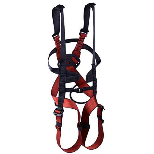 LAIABOR Arnés de Seguridad de Cuerpo Cinturón de Seguridad para niños Cinturón de Seguridad para Escalada en Roca...
