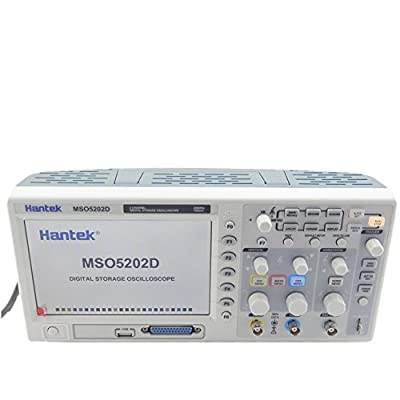 Hantek MSO5202D 200MHz 2Channels 1GSa/s 1M Oscilloscope & 16Channels Logic Analyzer 2in1 USB,800x480