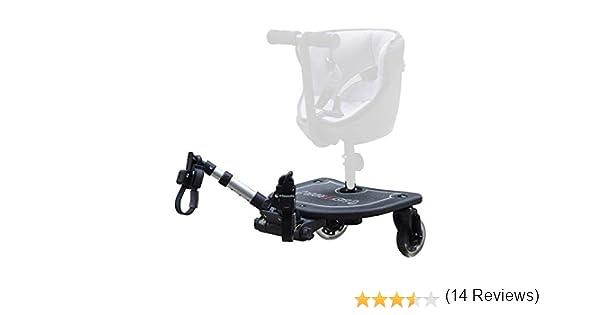 Easy X Rider - Patinete caer25-1108 para coche de paseo negro: Amazon.es: Bebé