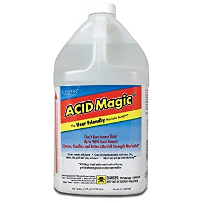 CERTOL INTERNATIONAL USA/128-1 Muriatic Replacement Acid, 1-Gallon: Home Improvement