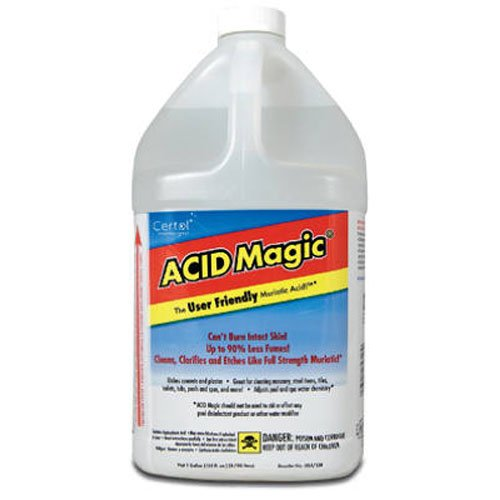 CERTOL INTERNATIONAL USA/128-1 Muriatic Replacement Acid, 1-Gallon