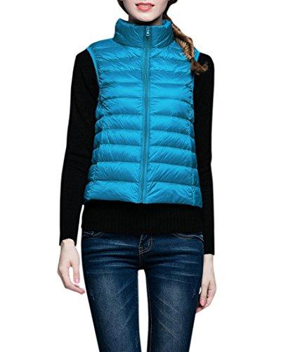 振るう敏感な強大なYueLian ダウンベスト ベスト 袖なし ジャケット ダウン 羽織 レディース アウター 暖かい 防寒