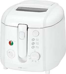 Clatronic FR 3390 - Freidora, capacidad 2 litros, 1800 W, color blanco