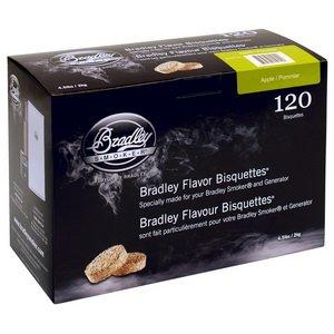 Bradley Smoker Flavor Bisquettes - Box 120 - Apple