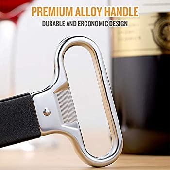 Corksickle Puller with Cover for Wine Bottles Champagne Wine Lovers AKlamater Two-Prong Cork Puller Pack of 2