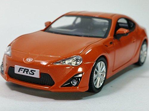 RMZ City Showcast Burnt Orange Toyota Scion FR-S Hardtop 1/33 Scale 5
