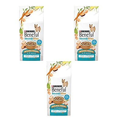 Purina Beneful IncrediBites for Small Dogs Adult Dry Dog Food (Chicken, 3 Packs (Each 3.5 lb))