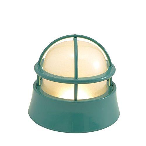 屋外照明 玄関照明 玄関 照明 門柱灯 門灯 外灯 屋外 LED マリンランプ BH1000LOW MG FR LE メイグリーン 壁面 天井 床面 ウッドデッキ 門 塀 真鍮製 照明器具 B07DNV21Z6 26568