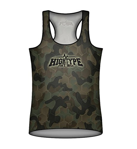Womens Sports Tank Top. Military. High Type Sportwear MMA Fightwear. Training. Gym. Running. Compression Top. Femme. Fitness. Cycling. Casual Wear