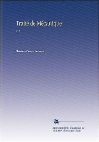Livres gratuits Traité de Mécanique: V. 1 pdf