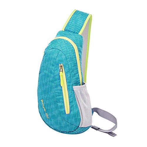 Starsource Outdoor Waterproof Biking Cycling Climbing Traveling Cross Body Organizer Single Strap Sling Bag Carryall ipad Bag,4 Colors
