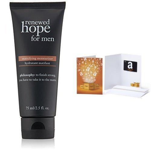 philosophy renewed hope mattifying moisturizer with Amazon Gift Card
