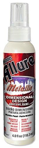 E6000 57080459 759C Allure Metallic Dimensional Adhesive Paint, Mystic Pearl, 4 fl. (Pearl Metallic Spray)