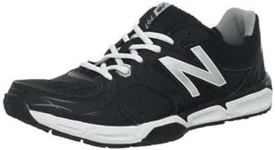 New Balance Men's MX797v2 Cross-Training Shoe,Black/Silver,15 D US