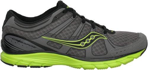 SAUCONY Grid Crossfire Mens Running Shoes, Grey/Green, US11