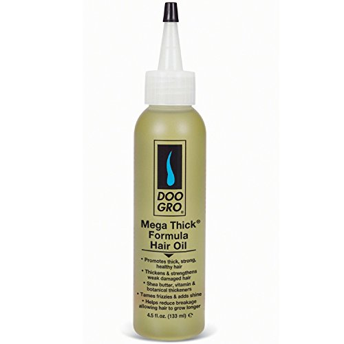 DOO GRO Mega Thick Growth Oil, 4.5 oz (Pack of 3)