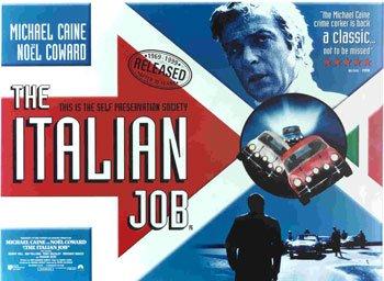 Amazoncom The Italian Job Uk Landscape British Huge Film Paper