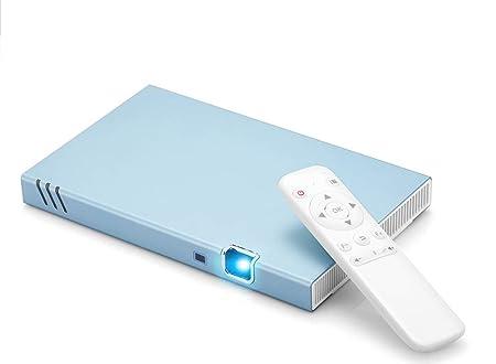 YSCCSY Proyector 1000 lúmenes DLP 1080P Cine móvil Dual Core ...