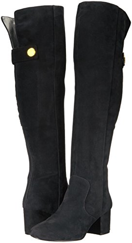 Nine West Women's Queddy Suede Over the Knee Boot, Black, 7 Medium US by Nine West (Image #6)