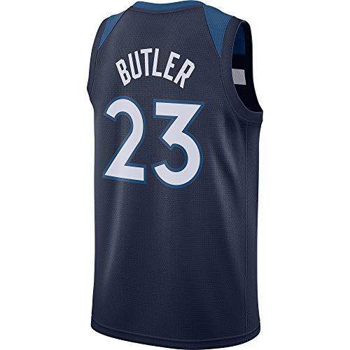 Men/Youth_Jimmy_Butler_#23_Basketball_Fans_Jerseys_Navy_Game_Jersey ()