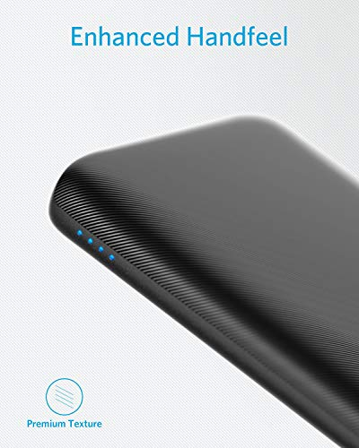 2d653d15fe879 Anker PowerCore Lite 10000mAh, USB-C Input (Only), High Capacity Portable  Charger, Slim and Light External Battery for iPhone, Samsung Galaxy, and  More