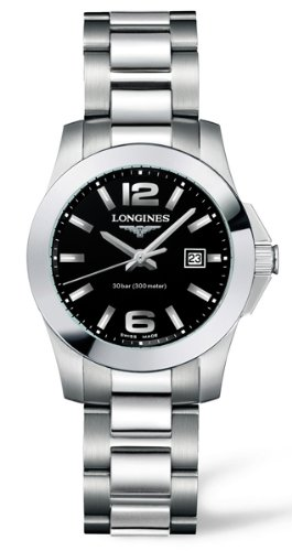 Amazon.com: Womans watch RELOJ SRA LONGINES CONQUEST ESF.NEG. L32774566: Watches