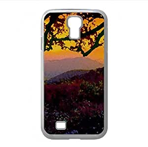 Autumn Dusk Watercolor style Cover Samsung Galaxy S4 I9500 Case (Autumn Watercolor style Cover Samsung Galaxy S4 I9500 Case)