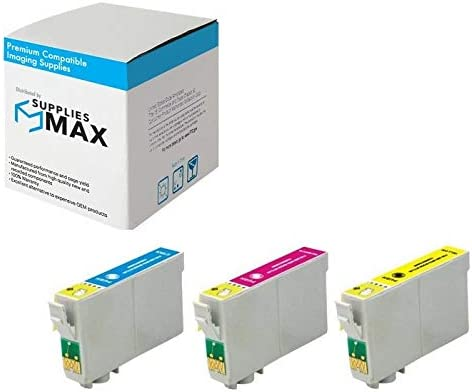 SuppliesMAX Remanufactured Replacement for Stylus C120//CX5000//6000//7000//9400//NX300//400//515 Inkjet Combo Pack T068CMY C//M//Y NO. 68