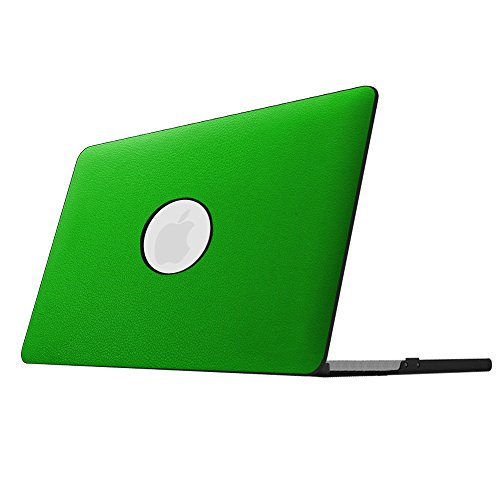 Fintie MacBook Pro 13 Retina Case - Slim Lightweight PU Leather Coated Plastic Hard Cover Snap On Protective Case for MacBook Pro 13.3