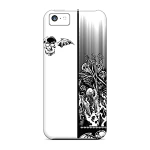 Hot Design Premium IUT34283UGYM Cases Covers Iphone 5c Protection Cases(avenged Sevenfold)