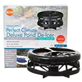 K&H Pet Products Deluxe Perfect Climate Pond De-Icer 750 watts 6'' x 6'' x 5'' - KH8175
