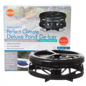 K&H Pet Products Deluxe Perfect Climate Pond De-Icer 750 watts 6