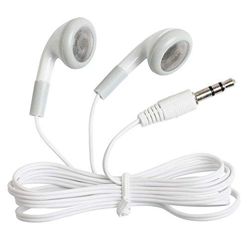 Wholesale Wired Cell Phone Headsets Bulk Earbuds Headphones 100 Pack For Iphone, Android, MP3 Player - White from CN-Outlet
