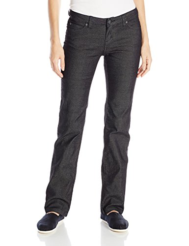 prAna Women's Regular Inseam Jada Organic Jeans, Size 12, Black