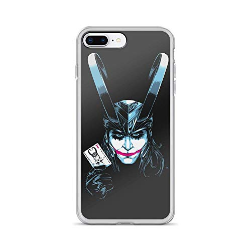 iPhone 7 Plus/8 Plus Pure Clear Case Cases Cover The Trickster Partner in Crime Supervillain - Girl Jr Snake