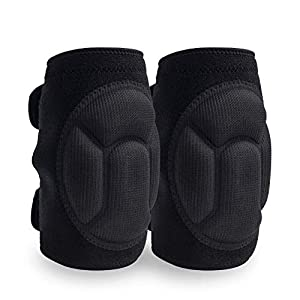 JYSW Knee Pads Comfortable Non-Slip, Thick Extra Foam Cushion for Scrubbing Floors, Gardening, Yoga & Construction, Soft…