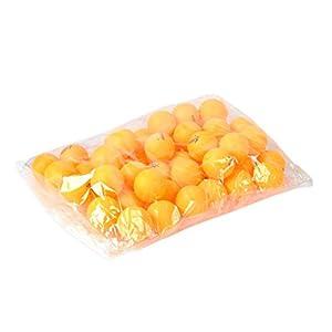 100pcs 3-Sterne-40mm orange Olympische Tischtennisplatte Tennis Ball