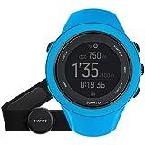 Suunto Ambit3 Sport GPS Multisport Watch (Blue w/ Heart Rate Sensor)