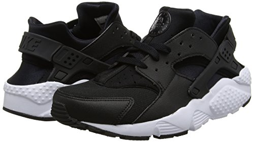Nike Bambino Huarache A Collo Basso gs 011 white black Nero Run Sneaker rr60OI