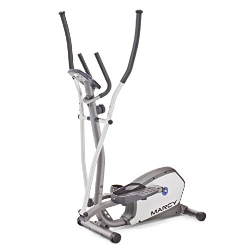 Marcy 8-Level Magnetic Resistance Elliptical Trainer with Oversized Pedals, 300 Pound User Capacity NS-1201E